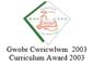 Curriculum Award 2003