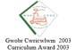 Curriculum Award 2003