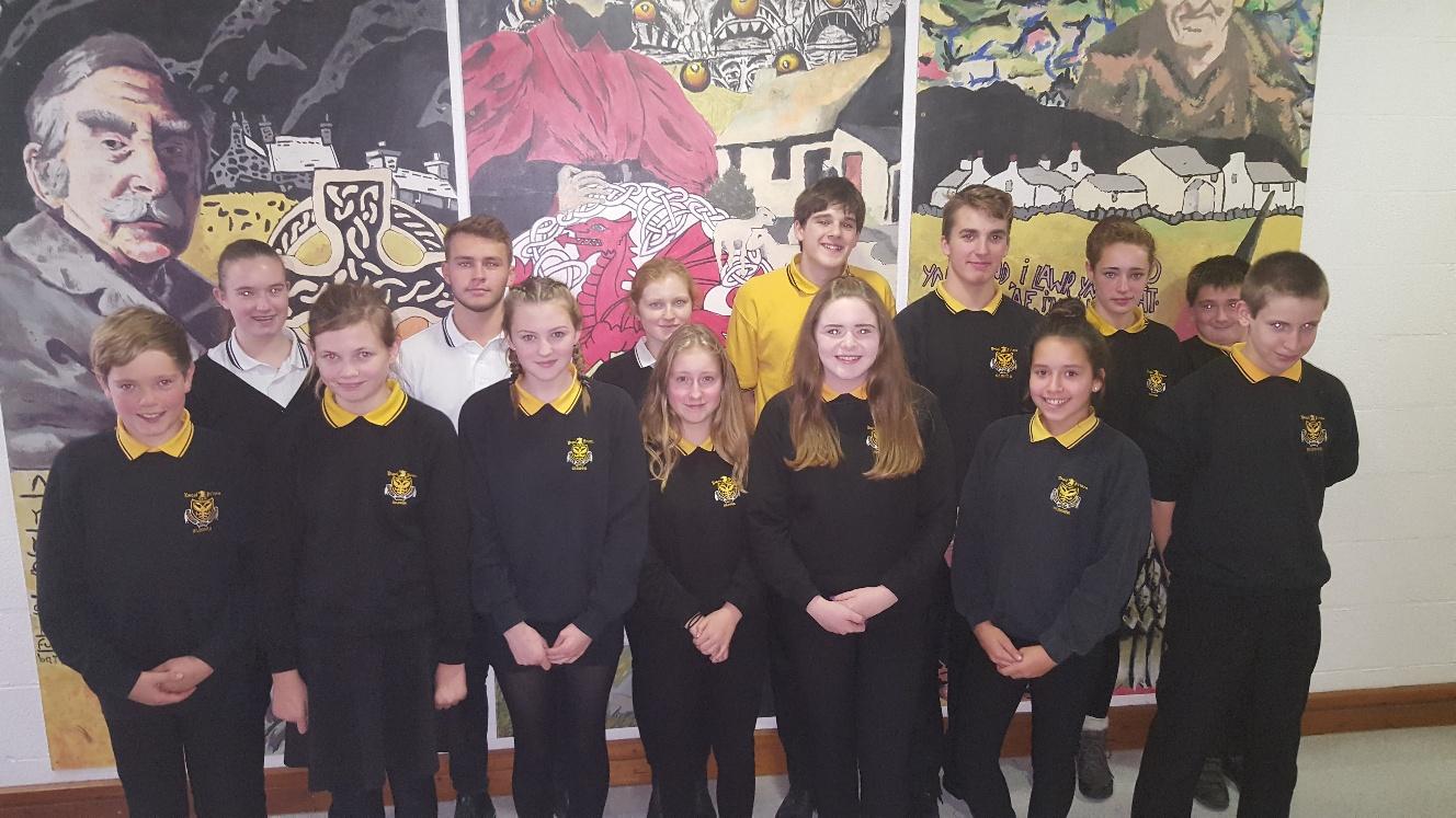 Camau Cymraeg group